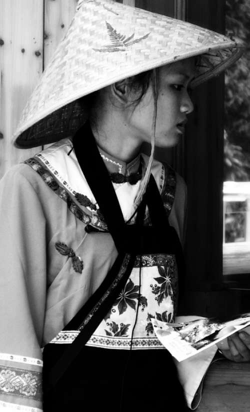 Asian China Chinese Traditional Woman Female