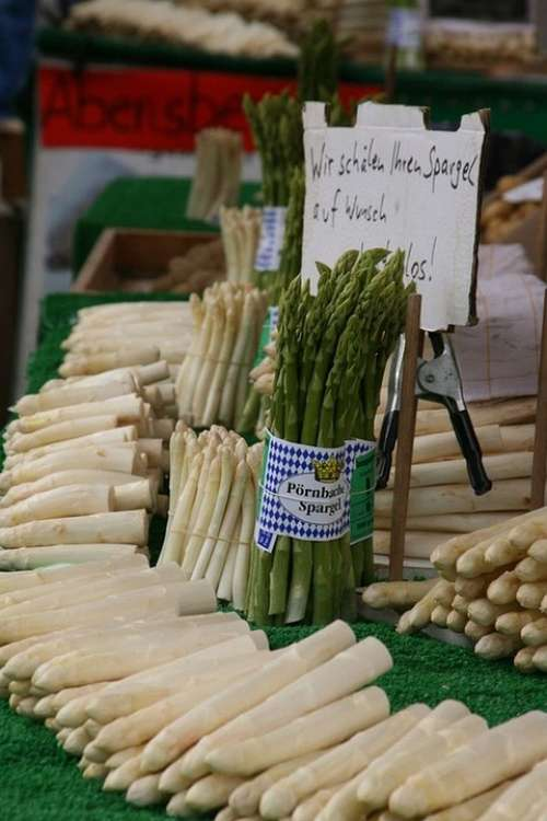 Asparagus Vegetables Market Healthy