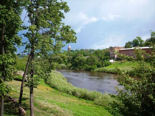 Astronira Dnieper Russian Federation Russia River