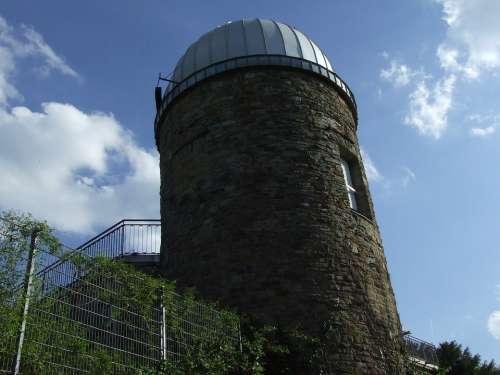 Astronomical Observatory Stuttgart Sky Blue Dome
