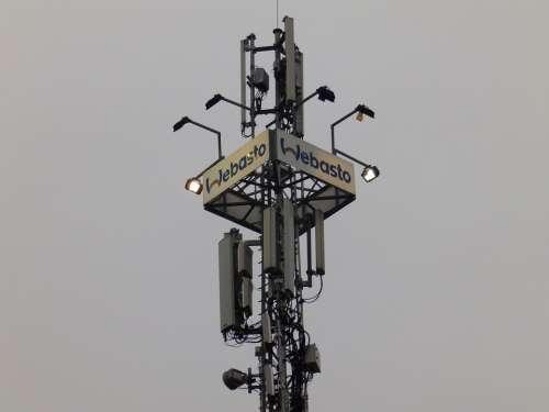 Átjátszóállomás Reléállomás Cell Phone Tower