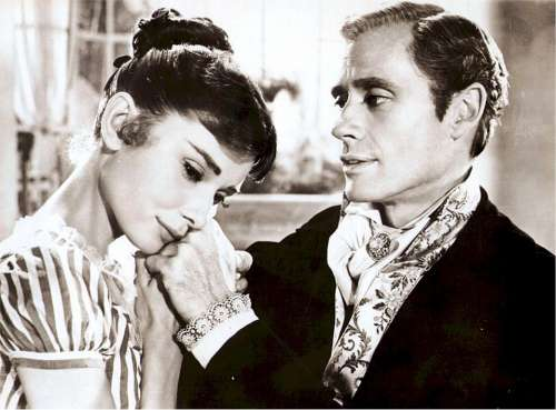 Audrey Hepburn Mel Ferrer Actress Actor Scene