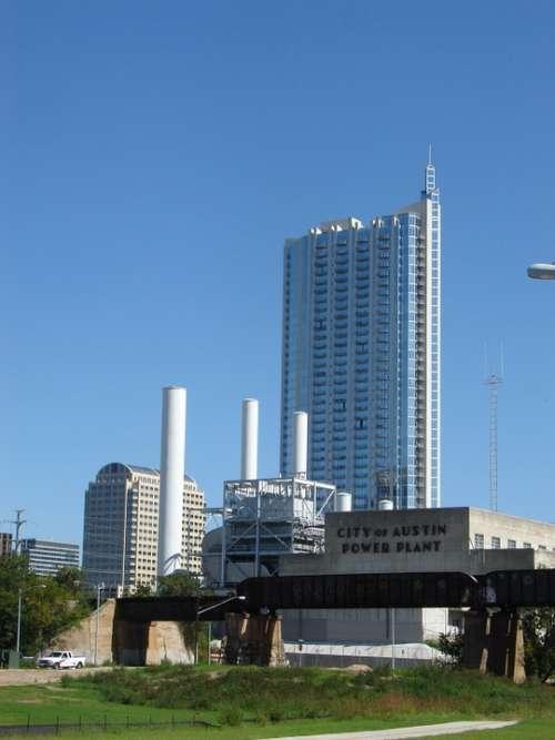 Austin Texas High Rise Building Usa America
