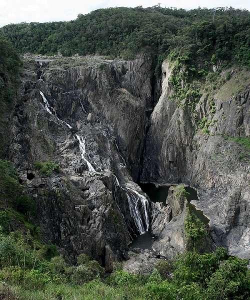 Australia Borron Gorge National Park Water Fall