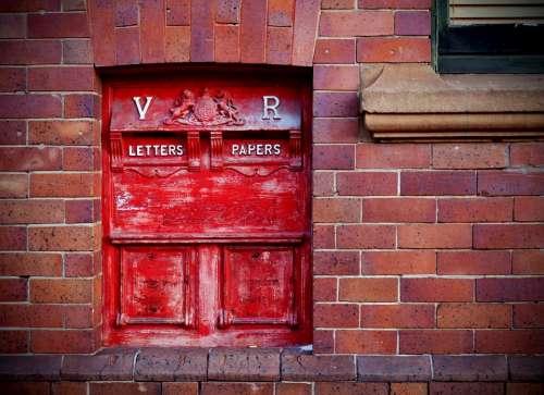 Australian Australia Post Sydney Post Box