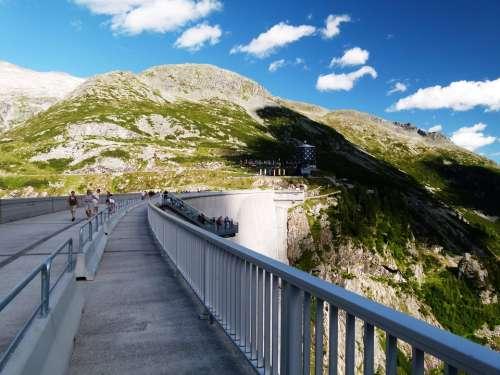 Austria Malta Reservoir Mountains Vista