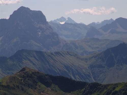 Austria Vorarlberg Diedamskopf