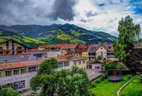 Austria St Johann Alps Landscape Vacation Salzburg