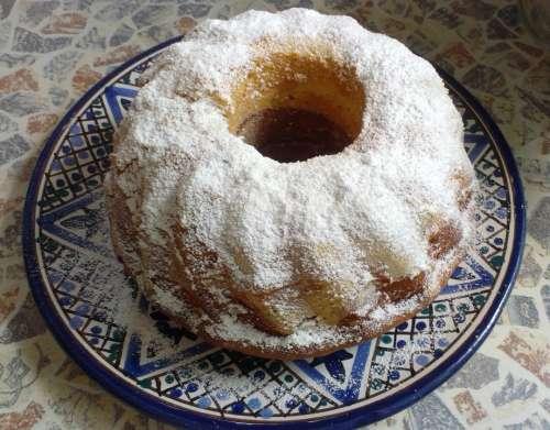 Austrian Gugelhupf Marble Gugelhupf Bowl Cake