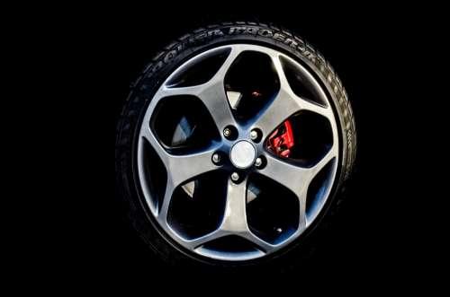 Auto Car Race Rubber Sport Steel Tire Trailer