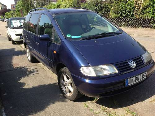 Auto Motor Vehicle Vw Volkswagen Sharan Vehicles