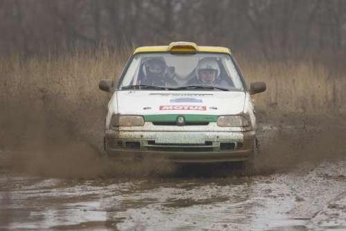 Auto Racing Road Car Machine Transport Rally