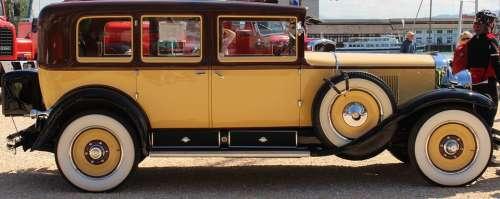 Auto Oldtimer Classic Cadillac Year Built 1929