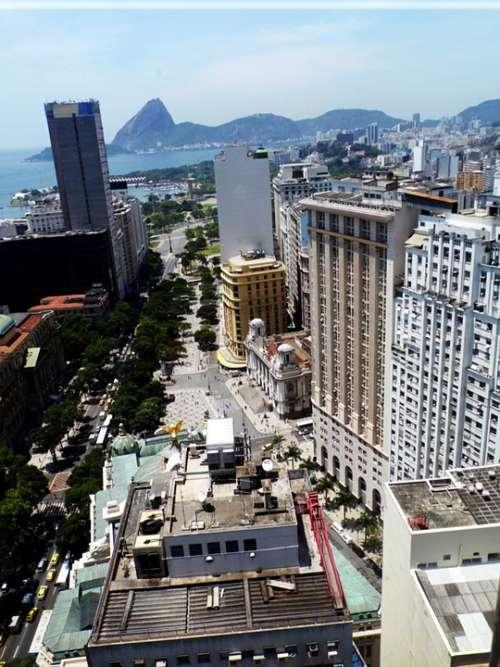 Avenida Rio Branco Buildings City Afternoon