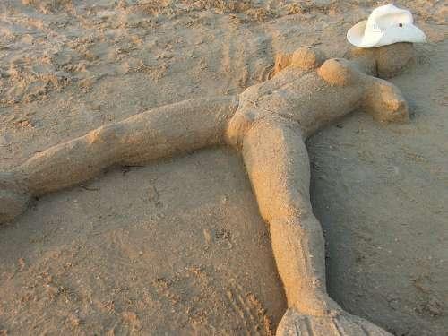 Baba Sand Humor Figure Of Sand Funny