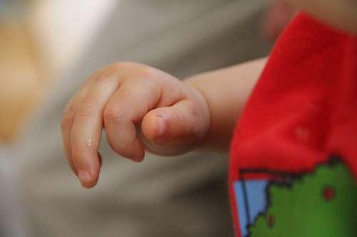 Baby Hand Red T Shirt