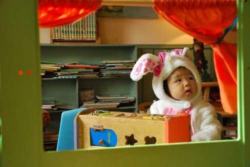 Baby Baby Costume Bunny Costume Cute Child Happy