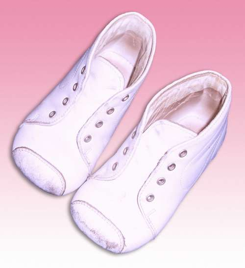 Baby Shoes White Shoes Children'S Clothing Leather