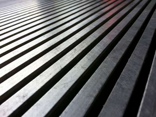 Background Pattern Line Metal Oblique Grid Grate