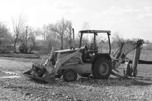 Backhoe Excavator Construction Equipment