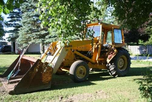 Backhoe Rear Actor Excavating Equipment