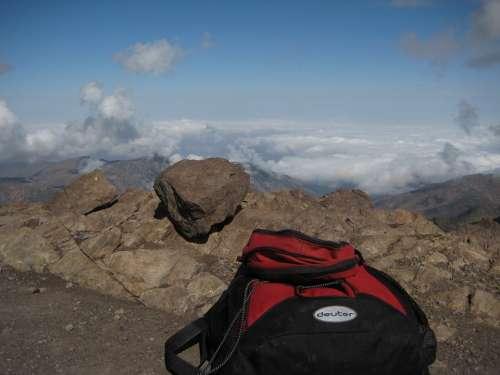Backpack Mountains Deuter Atlas Mountains Morocco