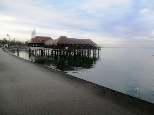 Bad Public Bathing Hut Rai Landmark Historically
