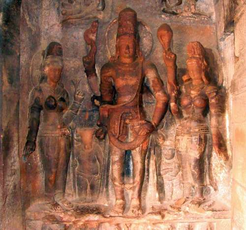 Badami Cave Temples Sculpture India Temple Unesco