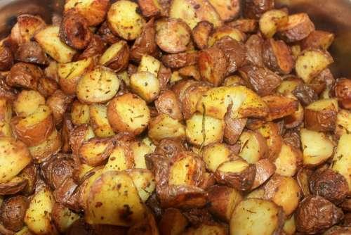 Baked Potato Rosemary