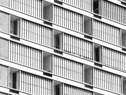 Balconies Skyscraper Building Architecture