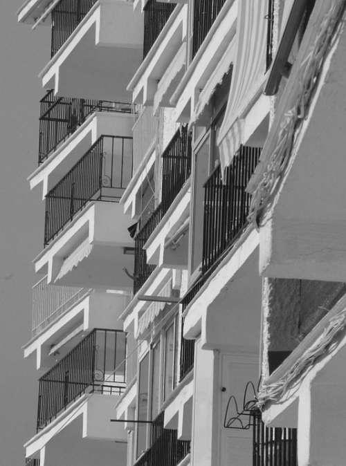 Balconies Buildings Homes Window Modern Building