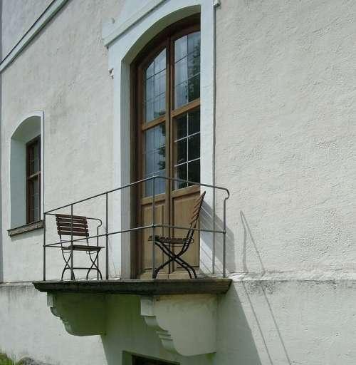 Balcony Architecture Facade Building Wall Door