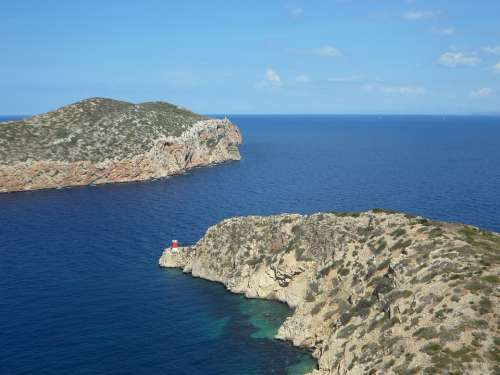 Balearic Islands Cabrera Harbour Entrance