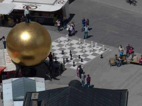 Balkenhol Mozartkugel Chess Player Chess Game Play