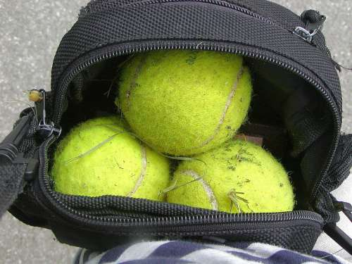 Ball Game Tennis Movement Summer Used