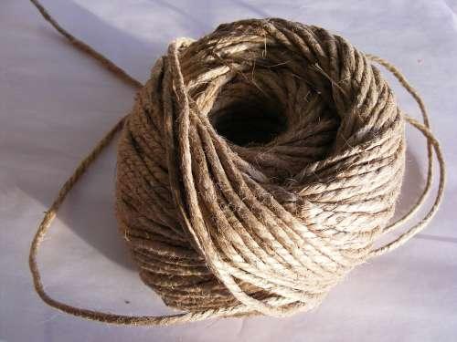 Ball Cord Hemp Natural Twine Household