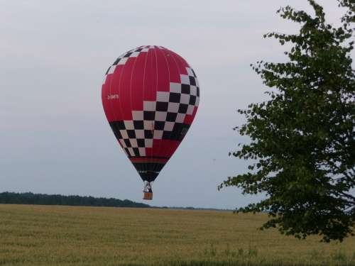 Balloon Hot Air Balloon Take Off Float Sky Flying