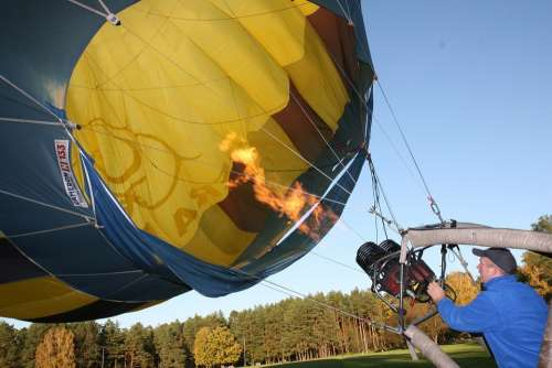 Ballooning Air Balloon Flying Fire Balloon