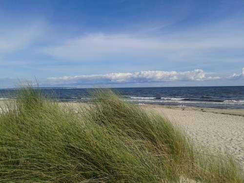 Baltic Sea Beach Rügen Göhren