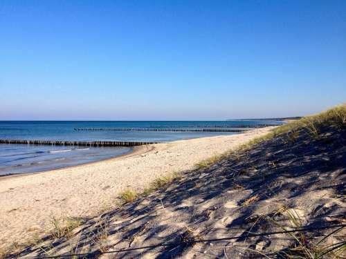 Baltic Sea Beach Summer Water Sea Sand Holidays