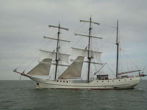 Baltic Sea Sea Sailing Vessel Water Ships Yacht