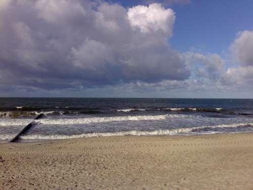 Baltic Sea Warnemünde Beach
