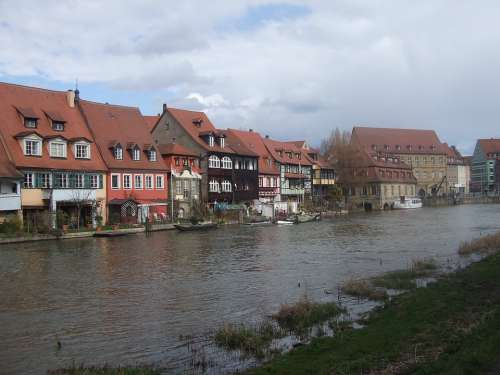 Bamberg Small Venice Town On The River Regnitz