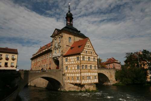 Bamberg World Heritage Town Hall Old Building