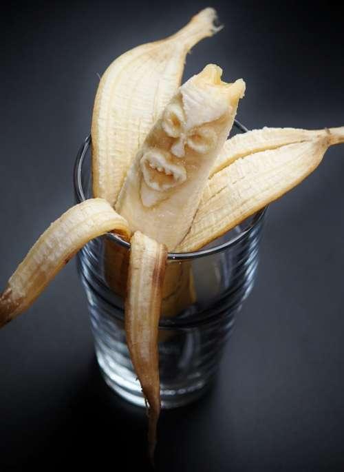 Banana Bananas Banana Peel Monster Food