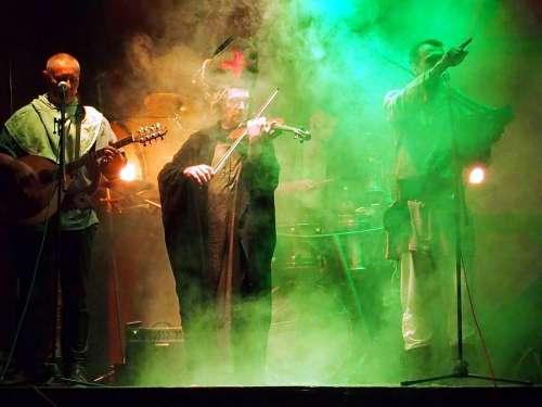 Band Music Musician Concert Rock Singer Lights
