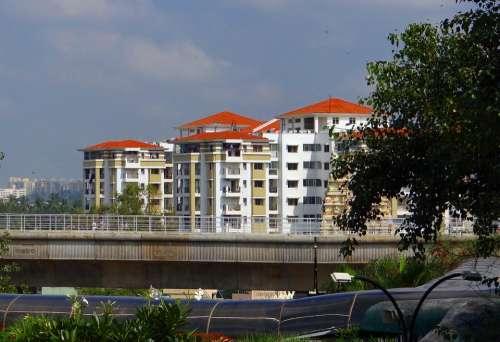 Bangalore Buildings City Skyline India