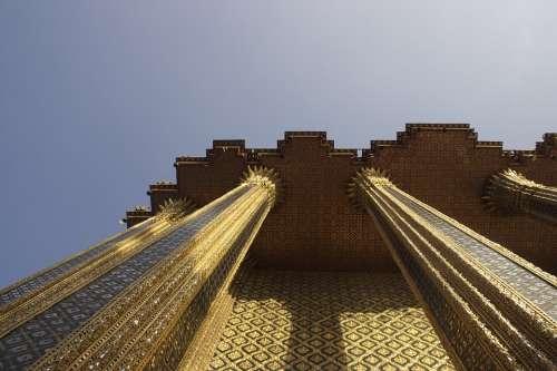 Bangkok Thai Thailand Temple Architecture Palace