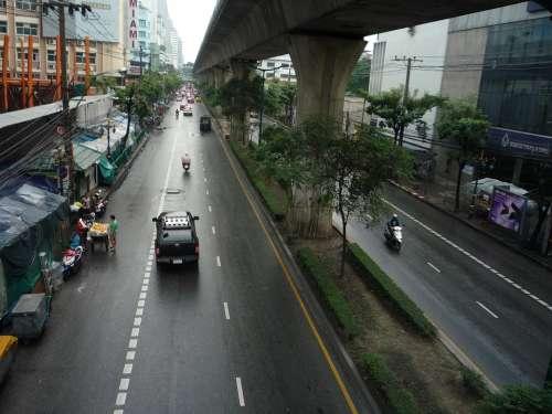 Bangkok Big City City Thailand Asia