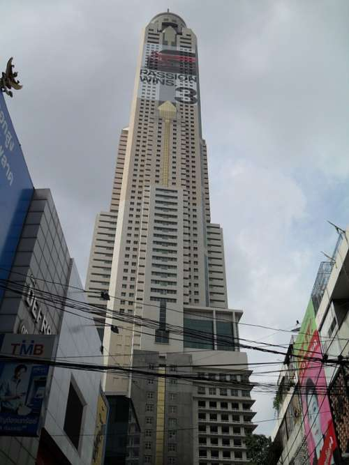 Bangkok Thailand Asia Skyscraper Building